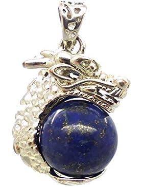 TANGLZ Lapis Lazuli Drachen Anhänger - Ein schützender, stressfreier, beruhigender Stein