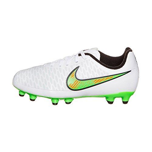 Nike Magista Onda FG Jr Unisex-Kinder Fußballschuhe weiãÿ/grã¼n