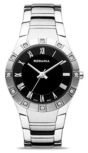 Rodania Swiss - RS2503447 - Montre Femme - Quartz Analogique - Bracelet Acier Inoxydable Argent