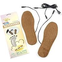 1 Paar schneidbare Winter Boot Einlegesohlen USB beheizten Fuß wärmer weiche Schuhe Pads Kissen bequeme Schuhe... preisvergleich bei billige-tabletten.eu