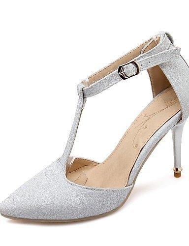 ShangYi Chaussures Femme-Mariage / Habillé / Soirée & Evénement-Noir / Violet / Gris / Or-Talon Aiguille-Talons-Talons-Paillette Purple