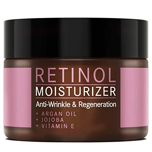 Retinol Creme mit Arganöl, Jojoba und Vitamin E - NATURKOSMETIK VEGAN – 100 ml made in Germany by Mother Nature Cosmetics -...