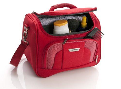 b562cef96 Travelite Neceser de Viaje, 19 Litros, 36 cm, Rojo - Las maletas de ...