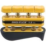 Cando Digi-Flex hand exerciser - Yellow, x-light - Finger (1.5 lbs.) / hand (5.0 lbs.) by Roscoe Medical