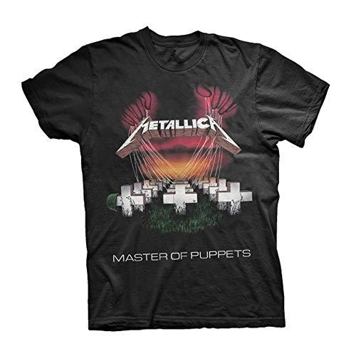 Probity Europe Ltd Metallica Master of Puppets Tour 1986 T-Shirt schwarz S