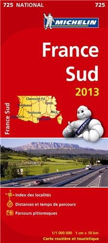 Carte NATIONALE France Sud 2013 n°725