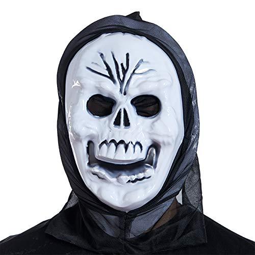 Maske Requisiten Horror Teufel Maske Halloween Schädel-Geist-König