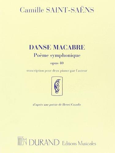 Danse macabre Op.40 - Pianos (2) par Saint-Saens