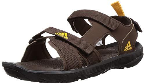 Adidas Men's Terra Light Brown Outdoor Sandals-9 UK (43 1/3 EU) (CL9930)