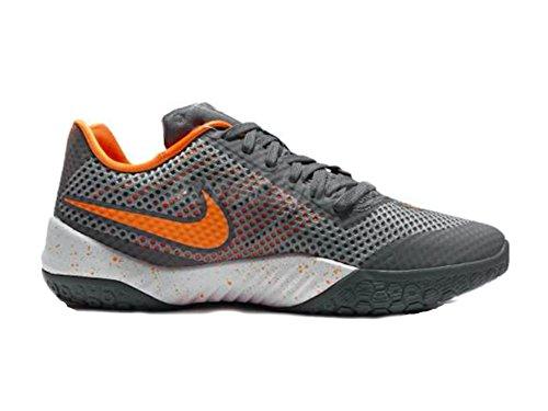 Nike Herren Hyperlive Basketballschuhe Grau (Cool Grey / Vvd Orng-Wlf Gry-Wht)