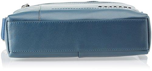 Piquadro Ca4111w82, Borsa Messenger Uomo, 7 x 27 x 23.5 cm (W x H x L) Blu