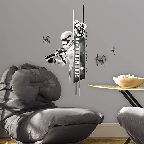 RoomMates RM - Star Wars VII - Sturmtruppen Wandtattoo, PVC, bunt 29 x 13 x 2.5 ()