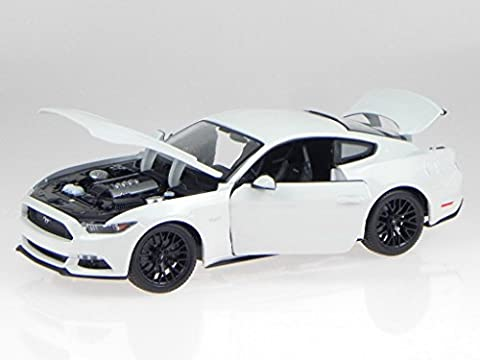 Ford Mustang GT 2014 weiss Modellauto 31197 Maisto 1:18