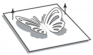Perforatrice moyenne origami double - Papillon