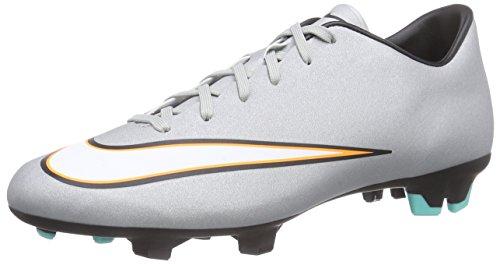 Nike Mercurial Victory V Cr7 Fg, Bottes pour Homme - gris - gris, EU Silber