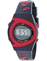 Christian Gar 418-R Reloj Digital Unisex Caja De Resina Esfera Color Rojo