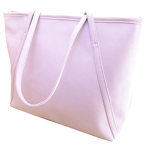 Warm Girl, Borsa a spalla donna rosa Pink Purple