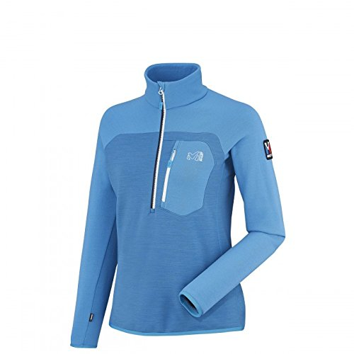 Millet - Sweat Thermal Ld Trilogy Fleece Wool Po Light Sky Femme - Femme - Bleu Bleu