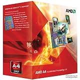 Processeur accéléré double coeur AMD A4-3300 avec graphique dédié AMD RadeonTM HD 6410D - Socket FM1