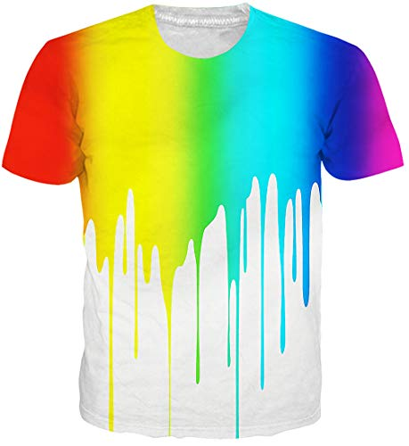 Goodstoworld 3d personalizzati stampa t shirt per mens womens multi colore estate casual manica corta t shirt tee top l