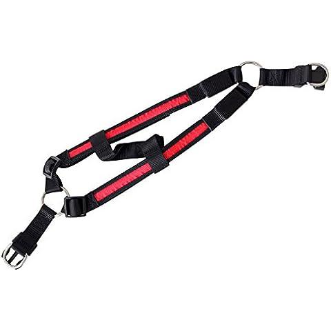 LED Piatti per cani collare chiaro per cani nel colore rosso L del PRECORN marchio
