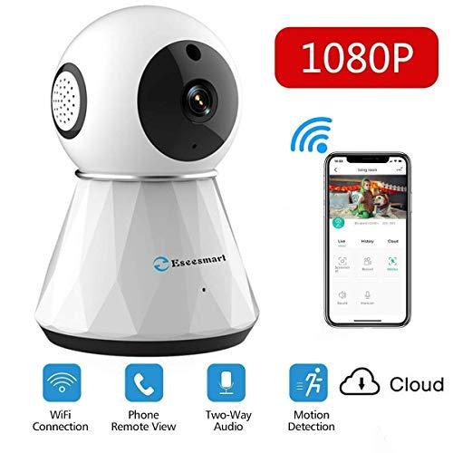WLAN IP Kamera WiFi Überwachungskamera mit Nachtsicht Bewegungserkennung, 2 Wege Audio,Baby Monitor, Sicherheitskamera unterstützt Mobile App Kontrolle