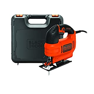 BLACK+DECKER KS701EK-GB Compact Jigsaw with Blade, 520 W