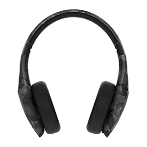 Motorola Pulse Escape+ Over-Ear Wired/Wireless Bluetooth Headphone with Microphone - Black Camo