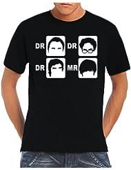 Touchlines Herren T-Shirt Dr. Dr. Dr. Mr.