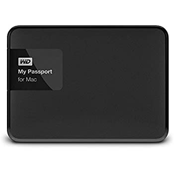 WD My Passport pour Mac Disque Dur Externe Portable 3 to - USB 3.0 - WDBCGL0030BSL-EESN