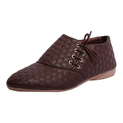 Motion Women's Brown Casual Shoes -8