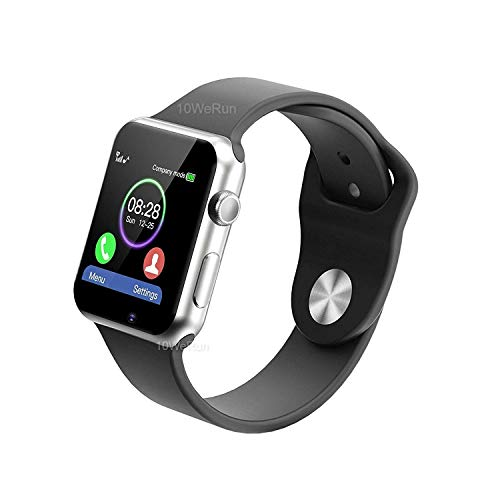 M9 Bluetooth Smart Watch Compatible with All 3G, 4G Phone with Camera and Sim Card Support Compatible with All Android and iOS Smartphones (Black)