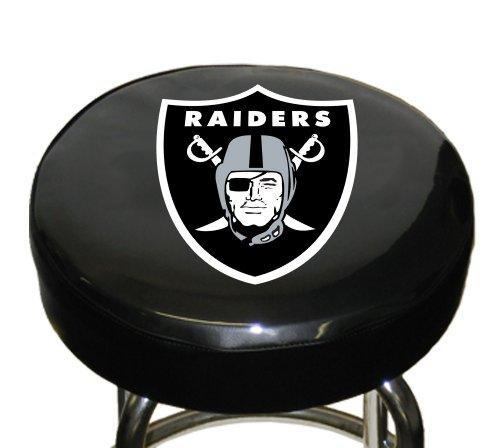 Fremont Die sterben NFL Team Logo Bar Hocker Bezüge, 95104, Oakland Raiders, 36,83 cm
