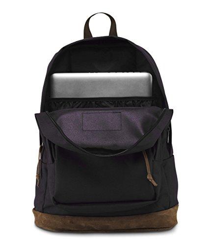 JanSport Right Pack 31 ltrs Black Casual Backpack (JTYP7008) Image 4