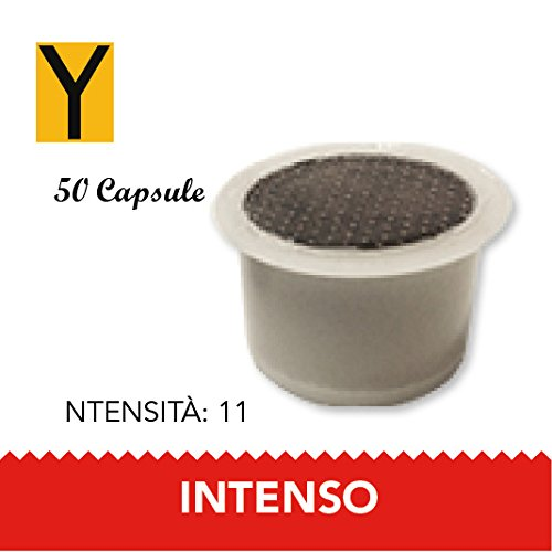 Yespresso Capsule Fior Lui Espresso Compatibili Intenso - Confezione da 50 Pezzi