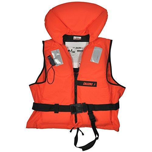 Lalizas Feststoff-Rettungsweste 100 N, CE ISO 12402-4-zertifiziert (2.4 Für Erwachsene - Gewicht über 90 kg)