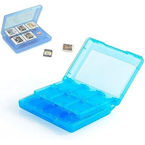 Neuftech Game Card Caja de tarjetas para Nintendo 3DS XL, 2DS / 3DS, DSi XL, DSi y DS (22 Juegos y 2 tarjetas de memoria)