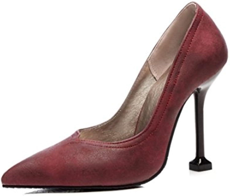 RFF-Chaussures de printemps, d'été et d'automne The Escarpins Femme/Ouvert/Western Tip of The d'automne Light of High Heels...B07CDCVF7DParent 5df6f5
