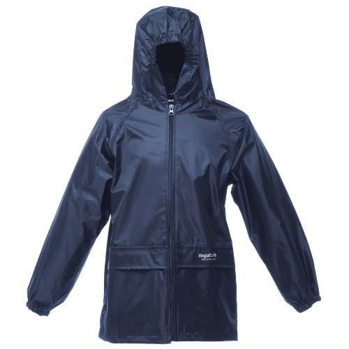 Regatta Kids Unisex Stormbreak Jacket (Waterproof & Windproof) (7-8) (Navy)
