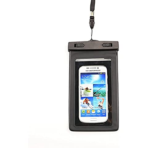 ClouWorld Universal Waterproof Screen Touch Bag Case Cover Sealed Pouch Durable Water Proof Underwater Bags Cell Phone Dry Bag Universal for iOS Android