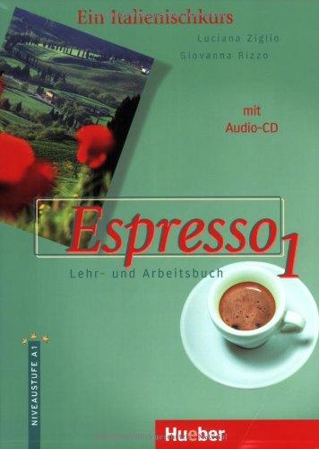 Max Hueber Verlag Espresso, Bd.1, Lehr- und Arbeitsbuch, m. Audio-CD