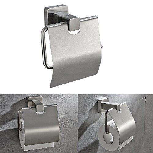 Porta rotolo carta igienica,KINSE® Portarotolo carta igienica da parete in