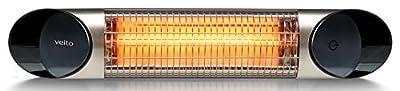Veito Blade Mini Wickeltischstrahler IP55 - 600W bis 1200 W mit Fernbedienung von veito bei Heizstrahler Onlineshop