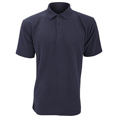 UCC 50/50 Pique Polo Shirt für Männer Marineblau