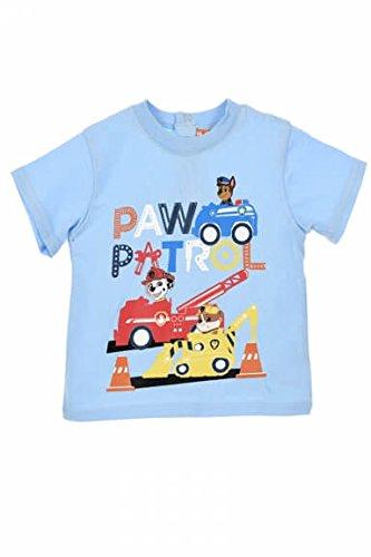 Pat Patrouille Pat' Patrouille Baby Jungen (0-24 Monate) Schlafanzugoberteil Gr. 6 Monate, hellblau