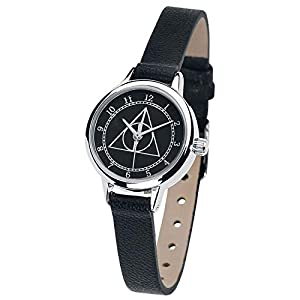 Harry Potter Deathly Hallows Mujer Relojes Negro, 3