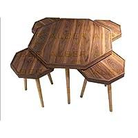 Table Set, Brown 5-p