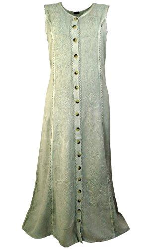 Guru-Shop -  Vestito  - Donna Grigio