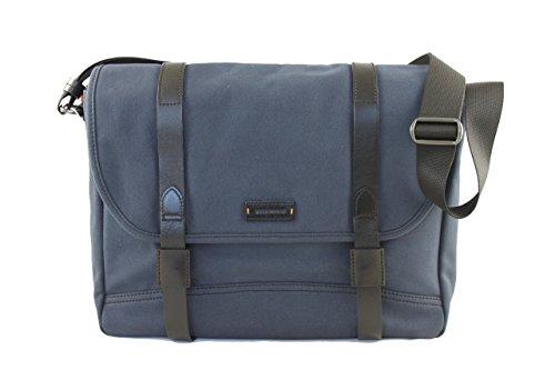 Boss Orange Herren Tasche Messenger Umhängetasche 50311706 HB706 blau-schwarz (Boss Tasche Orange)