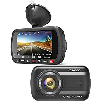 Kenwood-DRV-Full-HD-Dashcam-mit-3-Achsen-G-Sensor-GPS-und-Wireless-Link